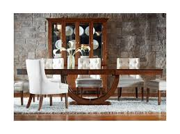 Bermex Tables Customizable Rectangular Dining Table With Half Moon Room Furniture Products Color Tbre Pedestal Base