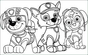 Marshall Paw Patrol Coloring Page Fresh Pages Of Chase And Mar