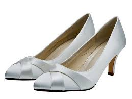 lexi white satin court shoes by rainbow club buy online from