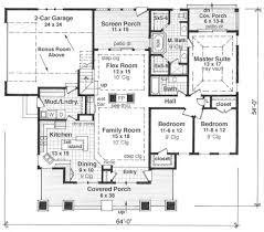 Craftsman Style Floor Plans Bungalow by 175 Best House Plans Images On Pinterest Architecture Dream