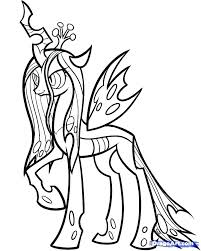 Pony Coloring Pages My Little Rainbow Dash Baby Page How To Draw Queen