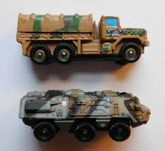 100 Ton Truck VTG Galoob Micro Machines Mini M923 5 Transportpanzer 1