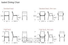 standard dining room table size awe inspiring furniture sizes
