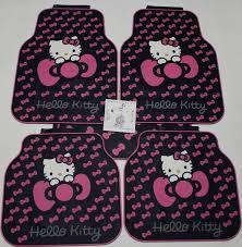 Cute Car Floor Mats by Hello Kitty Car Floor Mats Ourcozycatcottage Com