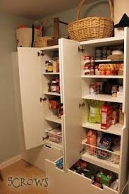 Pantry Cabinet Ikea Hack by Two Ikea Pax Cabinets Hacked Into A Diy Pantry Ikea Hack Ikea