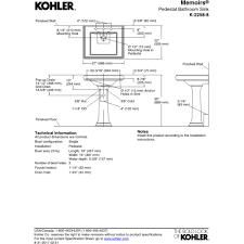 Kohler Memoirs Pedestal Sink 27 by Kohler K 2258 8 0 Memoirs White Pedestals Single Bowl Bathroom