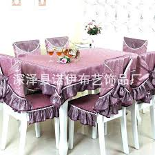 Table And Chair Covers Dining Room New Kitchen