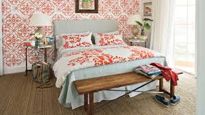 Coral Color Decorating Ideas by Colorful Beach Bedroom Decorating Ideas Southern Living