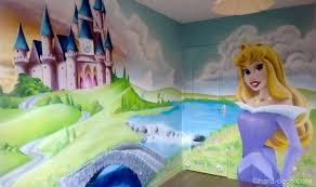 deco chambre princesse disney princesse décoration graffiti deco