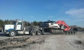 100 Alan Farmer Trucking Kingtrucking Hauling Equipment Heavyhaul Atx Peterbilt Komatsu