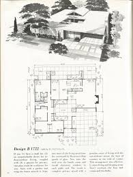 100 Mid Century Modern Home Floor Plans Vintage House S 1960s S House Plans In