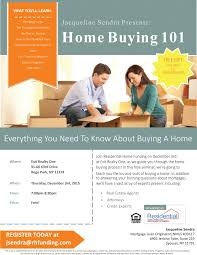 Home Buying 101 Seminar At EXIT Realty One With Jacqueline Sendra