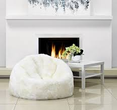 Sheepskin Bean Bag Parker Wool