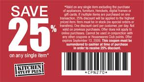 Kitchen Stuff Plus Canada Coupons  off