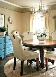 Under Table Rug Dining Room Rugs For Round Tables Contemporary