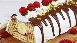 butterkekskuchen mit pudding und bananen nur 5 zutaten i piramit pastasi
