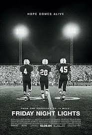 Friday Night Lights Ver2 Theatrical Release Poster