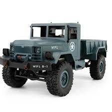 100 Rc Military Trucks Buy Now Hbqcwj Wpl B 1 116 4wd Diy Off Road Truck Rtf