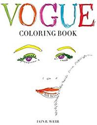 Amazon Vogue Colors A To Z Fashion Coloring Book