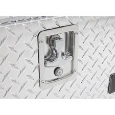 Lund Inch Aluminum Top Mount Truck Tool Box Diamond Plated Plate ...