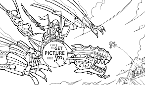Lego Ninjago Coloring Pages Attack For Kids Printable Free Image