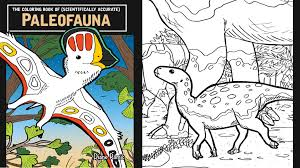 The Coloring Book Of PaleoFauna