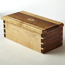 Dovetail Wood The Triple Antique Box