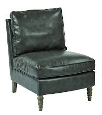 Amazon.com: Office Star Martin Bonded Leather Armless Accent ... Emerald Home Milo Red Bonded Leather Accent Chair Amazoncom Office Star Martin Armless Alexis With Wenge Legs Vintage Gray Cool Modern With Excellent New Pacific Direct Ritchie Arm Lad Cream Osp Fniture Club Black Sl9801ec3 Strick Bolton Sigmar Endicot Kitchener In Living Room Flint