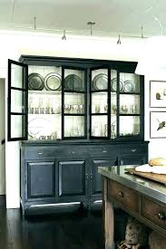 Dining Room Hutch Painted Ideas Marvelous Black