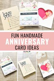 3 Fun Handmade Anniversary Card Ideas For Your Boyfriend Husband Or Significant Other