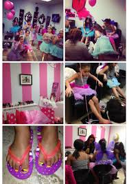Birthday Idea Spa Party At Pink Shisha