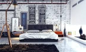 chambre industriel peinture style industriel meuble style industriel salon moderne