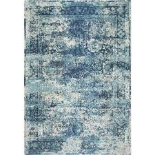 nuLOOM Distressed Blue Area Rugs Rugs The Home Depot