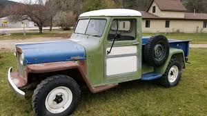 Jeep Trucks, An Incomplete History: The Willys Years Blazing Blue 1941 Willys Pickup Goodguys Hot News Willys Jeep Truck 4x4 New Tires Paint Runs Great M38 Wikipedia Find Of The Week 1951 Jeep Truck Autotraderca Dustyoldcarscom 1961 Black Sn 1026 Youtube 1948 Wagon A Throwback To High School Classic Hemmings Day 1959 Utility Daily 1950 Used Jeepster For Sale At Webe Autos Serving Long Island 4500 1950s History Go Beyond Wrangler