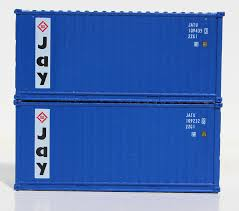 100 Shipping Container Model JAY Services 20 Std Height Containers With Magnetic System Corrugatedside JTC205303