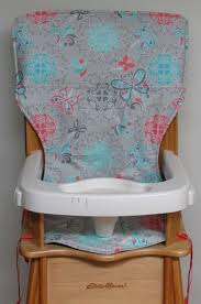Butterfly Chair Replacement Covers by Eddie Bauer Wooden High Chair Pad Replacement Cover Butterflies