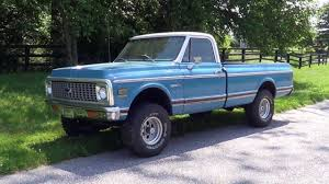 100 1972 Chevy Truck 4x4 72 Chevrolet Cheyenne Long Bed Sold YouTube