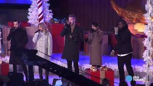 Rockefeller Christmas Tree Lighting Mariah Carey by Rockefeller Center Christmas Tree Lights Up New York Youtube