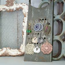 DIY Jewelry Display From Vintage Grater