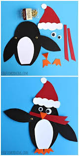 Adorable Christmas Penguin Craft Santa Winter Or For Kids
