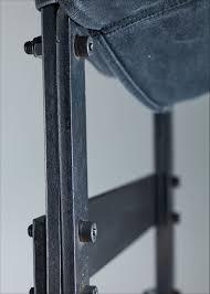 Max Gottschalk Metal And Canvas Sling Lounge Chair, USA, 1960s