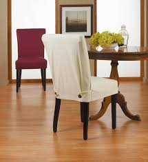 Grey Dining Room Chair Slipcovers by Dining Room Chair Covers Grey Two Ways For Making The Perfect