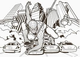 SPIDER MAN Coloring Challenges For Kids Coloriage Spiderman