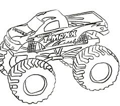 Free Coloring Book Monster Trucks Pages New At Painting Picture Page An Attribute Of 10
