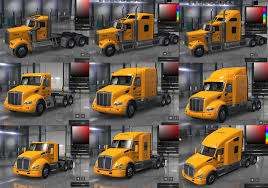 Yellow Inc. Company Skins For All 3 SCS Trucks • ATS Mods   American ... Goldhofer Semitrailer For American Truck Simulator Kenworth T660 V15 Heavy Tractor Trailer Weathering Equipment Tool Machinery Stock Photos Carrier Touts Dump Trailer Ranger Design Van By Youtube Home Facebook Cargo Pack Pc Game Key Keenshop Mack New Ats Mods Us Army Pete 389 Digger Tijuana