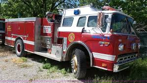 100 Ford Fire Truck 1985 8000 Fire Truck Item BR9222 SOLD June 7 Gover