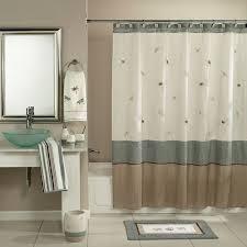 Walmart Bathroom Curtains Sets by Curtains Hookless Shower Curtain Walmart For Elegant Bathroom