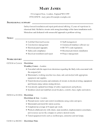 How To Write An Electrician CV Example & Templates Guide Entry Level Mechanical Eeering Resume Diploma Format Engineer Example And Writing Tips 25 Summary Examples Statements For All Jobs Crafting A Professional Writer How To Write Your Statement My Perfect 10 Writing Professional Summary Examples Samples Cashier Included 12 13 For Information Technology It Sample Genius Objectives Save Of Summaries Experienced Qa Software Tester Monstercom