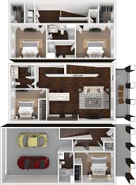 3 Bedroom Apartments For Rent Near Me by Simple Decor Floor Plans For One Bedrooms In Houston Tx Rent Near
