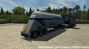 TMP - NEW CEMENT CISTERN V1.2 TRAILER MOD -Euro Truck Simulator 2 Mods Renault Premium With Autoload V20 Farming Simulator Modification Cm Truck Beds At Tmp Innovate Daimler 00 Trailer Ets2 Oversize Load 2 R 12r 130 Euro Simulator Chemical Cistern Mods Youtube Speeding Freight Semi Truck With Made In Sweden Caption On The Jumbo Pack Man Fs15 V11 Cistern Chrome V12 Trailer Mod